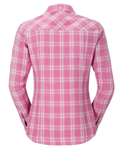 Jack Wolfskin Harrison Shirt Smoke Pink Passion Checks W2