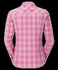 Jack Wolfskin Harrison Shirt Smoke Pink Passion Checks W2