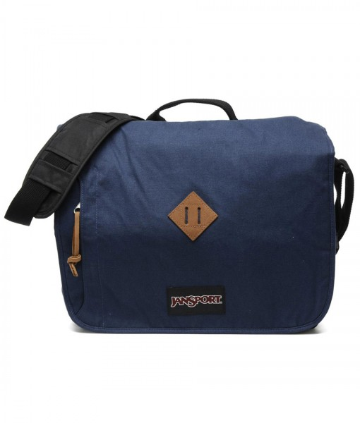 Jansport Crosstalk Messenger Bag Navy 001