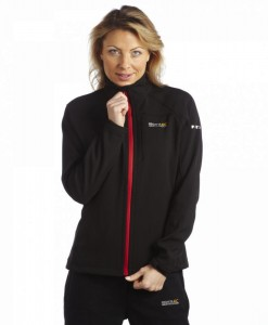 Regatta Southbank Softshell Jacket Femme Black 02