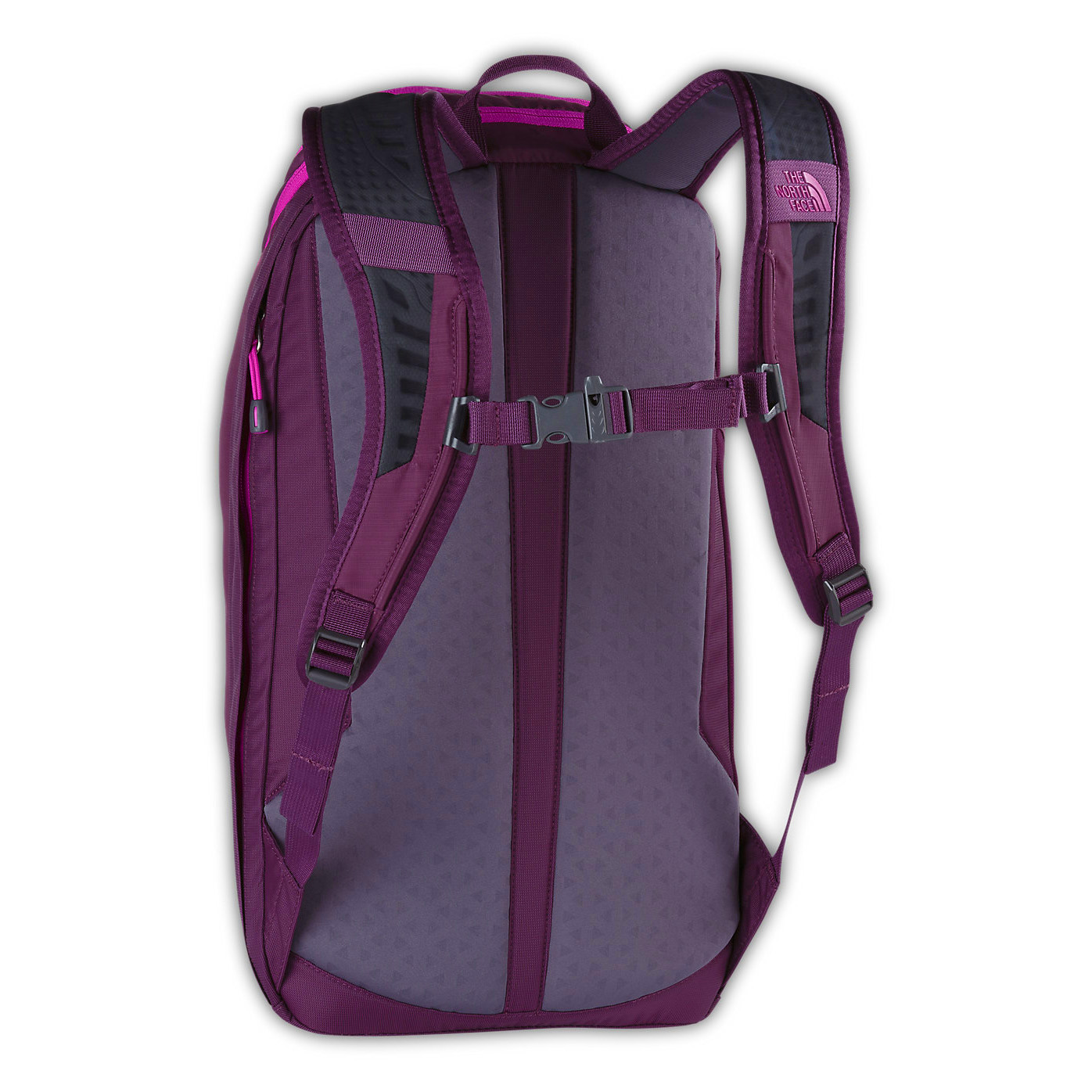 b8bc6d1366 Sac à dos The North Face Pinyon Prune Purple Femme