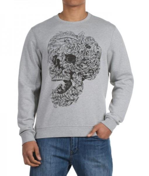 Sweatshirt Eye Animal Gris 01