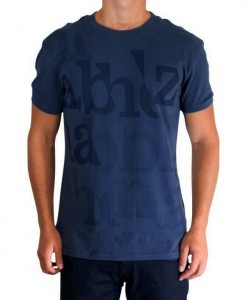 T-Shirt Nabholz Edi Dark Denim Homme