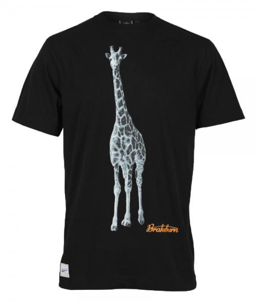 Brakeburn Giraffe Tee Black 01