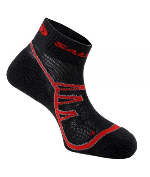 Chaussettes Salomon XA PRO 2 Black Red