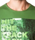 Jack Wolfskin T-shirt Track Ivy Green 01
