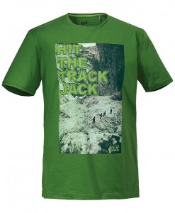 Jack Wolfskin T-shirt Track Ivy Green M 02