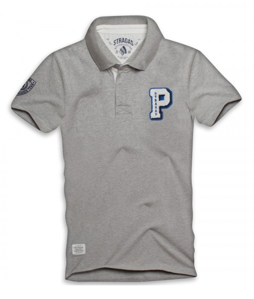 Paul Stragas Polo Paul Medio Grey 01