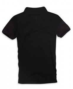 Paul Stragas Polo piqué Number 82 Black 01