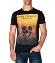 Paul Stragas T-shirt Gemini Black 840