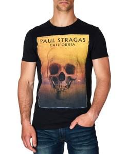 Paul Stragas T-shirt Gemini Black 840