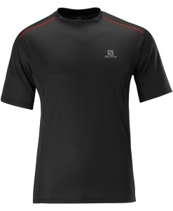 Salomon T-shirt Start M Black 01