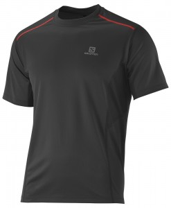 Salomon T-shirt Start M Black 02