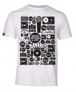 T-Shirt Beats Rhymes and Life AnyForty