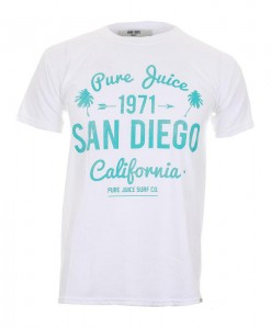 T-Shirt Pure Juice San Diego White