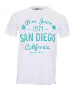 T-Shirt Pure Juice San Diego White