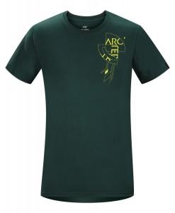 T-shirt Arc'teryx Gears Dark Jade