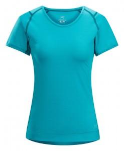 T-shirt Arc'teryx Mentum Blue Tetra Femme