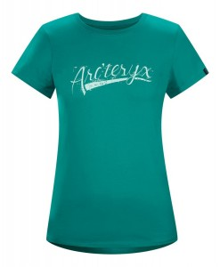 T-shirt Arc'teryx Script Mallard Femme