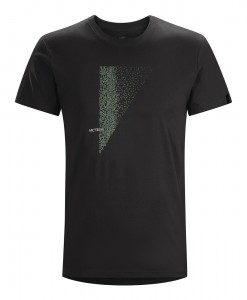 T-shirt Arc'teryx Word Scramble Black