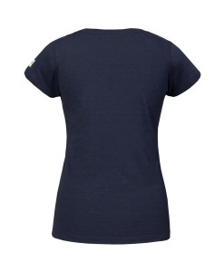 T-shirt Pyua Logo T-Y Navy Blue Gold 02
