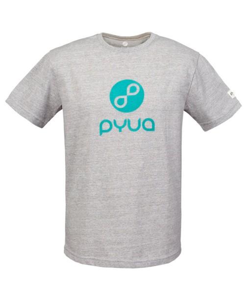 T-shirt Pyua Loop T-Y Grey Melange 01