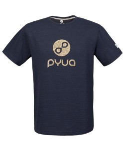 T-shirt Pyua Loop T-Y Navy Blue Gold 01