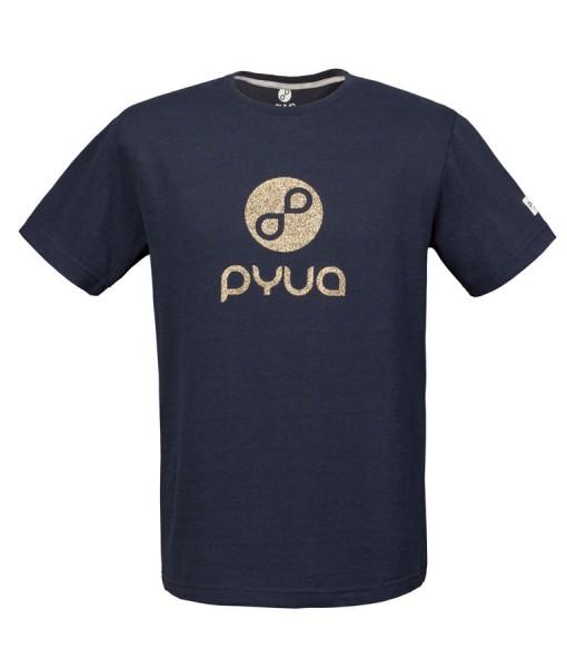 T-shirt Pyua Loop T-Y Navy Blue Gold 01