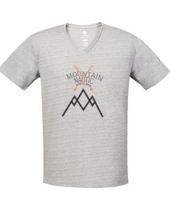T-shirt Pyua Mountain Nautic T-Y Grey Melange 01