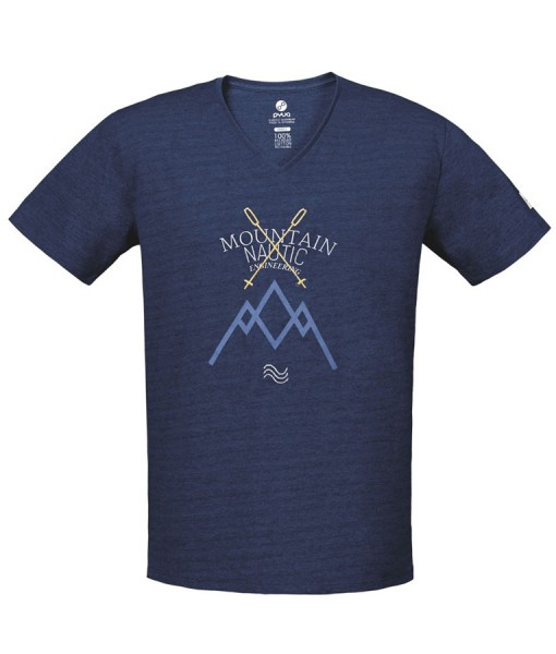 T-shirt Pyua Mountain Nautic T-Y Navy Blue 01