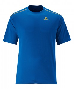 T-shirt Salomon Stroll Tee M Union Blue