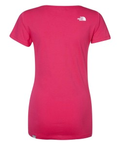 The North Face Easy T‑Shirt Passion Pink 02