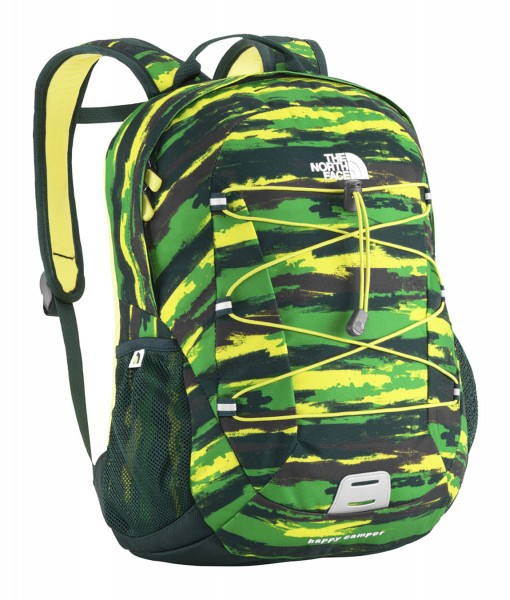 The North Face Happy Camper Flashlight Green Print