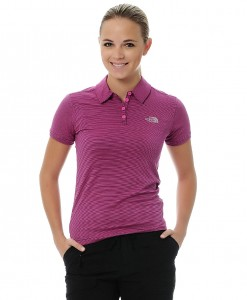 The North Face Polo Deva Linaria Pink W 01