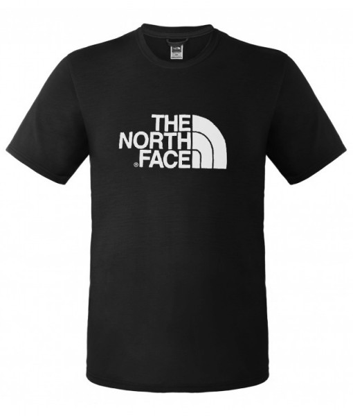 The North Face T-Shirt Graphic Reaxion Crew M Black