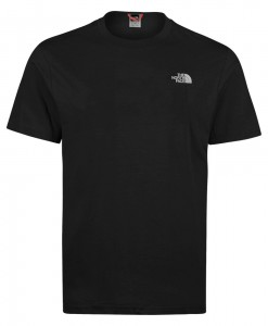 The North Face-T-Shirt New Peak Men Black TNF