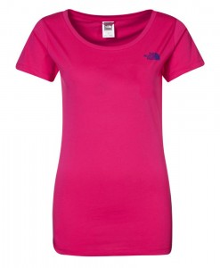 The North Face T-Shirt New Peak Passion Pink Femme 3