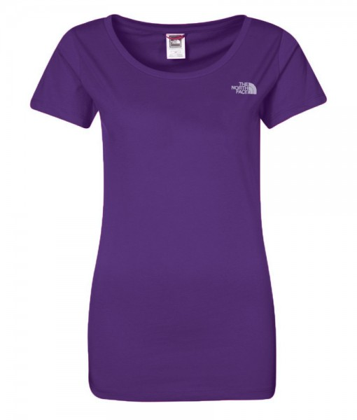 The North Face T-Shirt New Peak Pixie Purple W 02