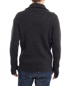 Ulvang Rav sweater w-zip Charcoal 01