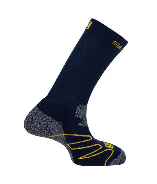 Chaussettes-Salomon-EXIT-Midnight-Blue-Yellow-S01