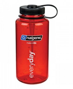 Gourde Nalgene Everyday - 1l - Wide Mouth Red
