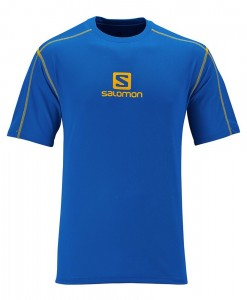 Salomon Stroll Logo Tee M Union Blue