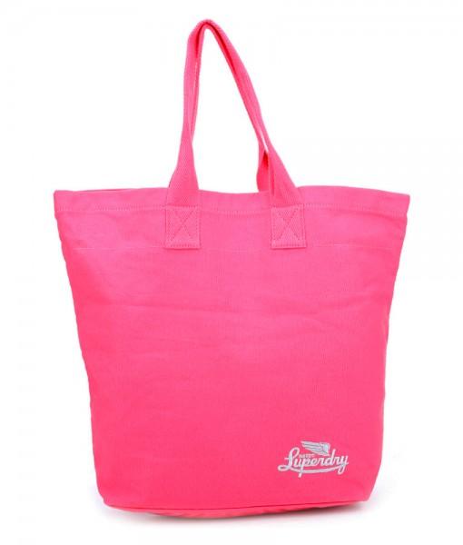Superdry Icarus tote bag fluro pink R02