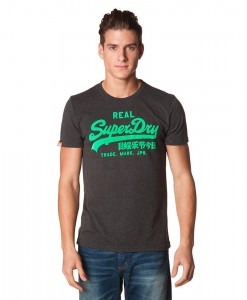 Superdry T-shirt Vintage Logo Laundered Entry-Tee B03