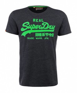 Superdry T-shirt Vintage Logo Laundered Entry-Tee B04