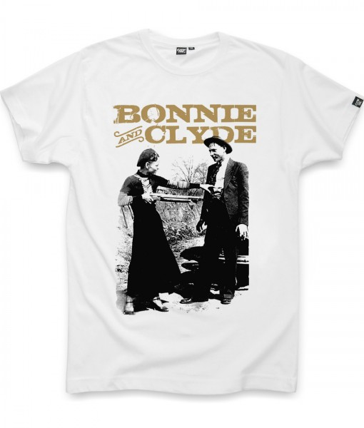 T-shirt BONNIE AND CLYDE Coontak