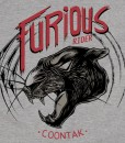 T-shirt PANTHER Heather Grey Coontak - 2