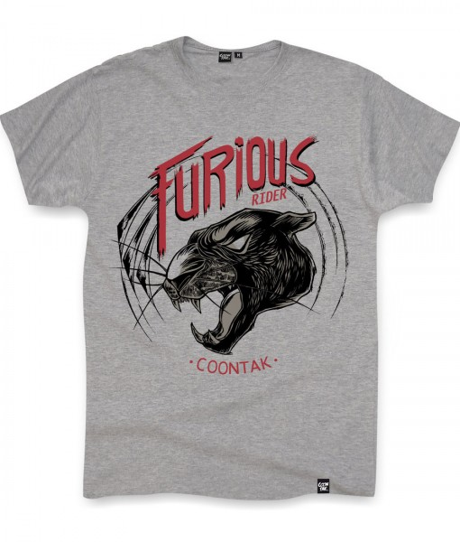 T-shirt PANTHER Heather Grey Coontak