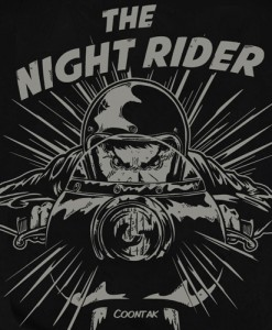T-shirt THE NIGHT RIDER Coontak - 2