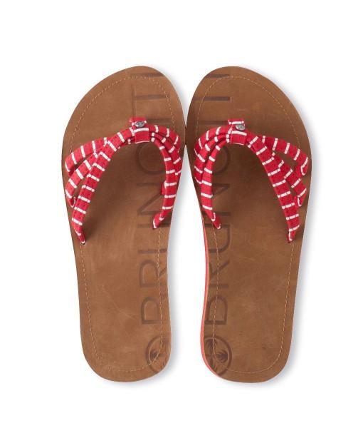 Brunotti Badanka Womens Slippers Poppy Rood